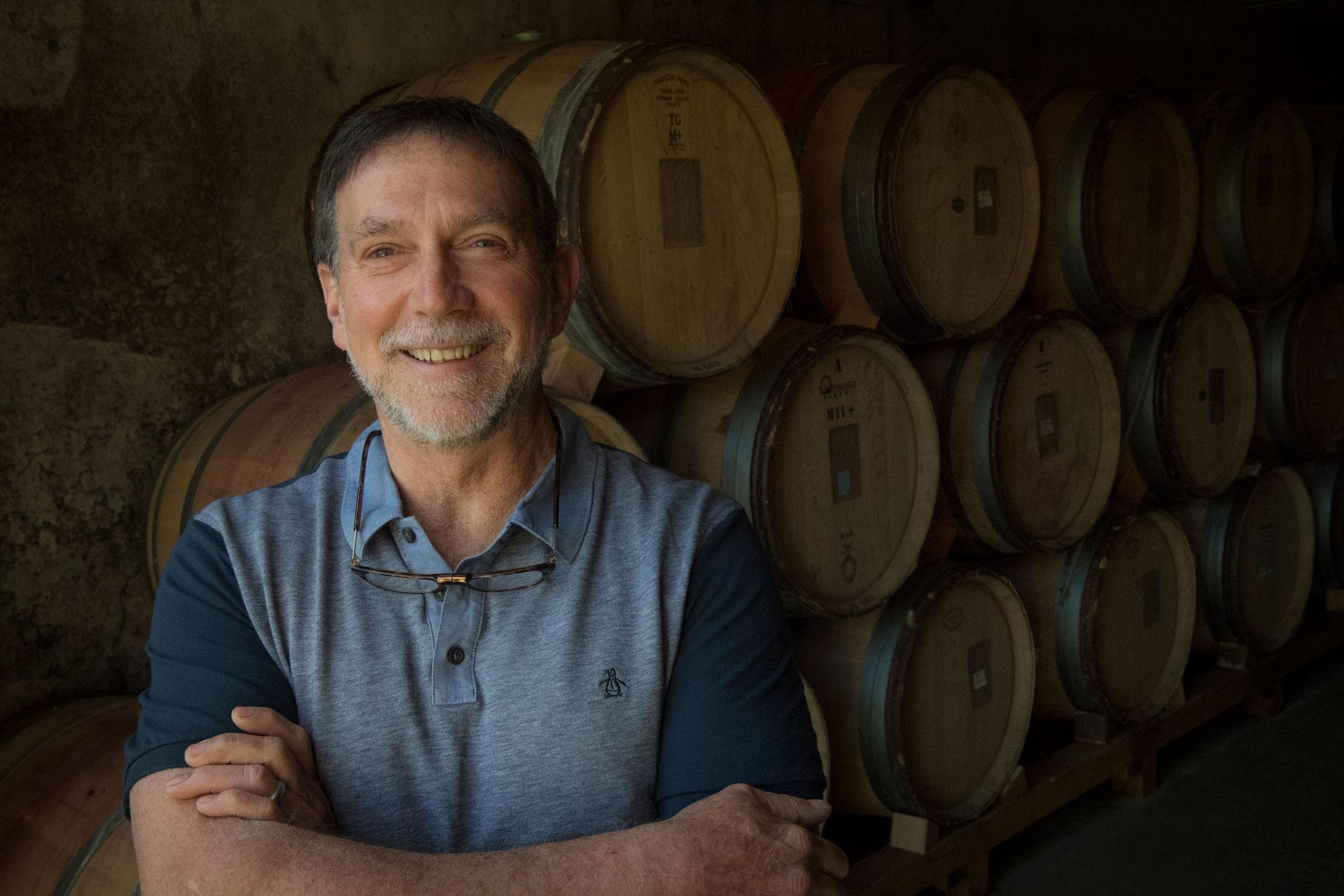Steve Doerner of Cristom Vineyards