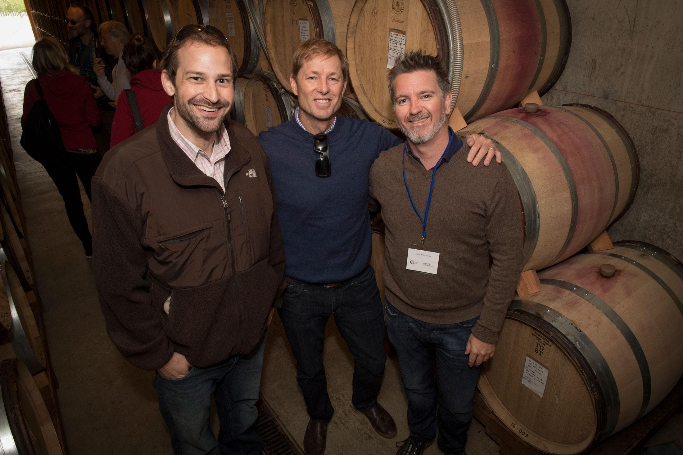 Masters of Wine at Cristom Vineyards