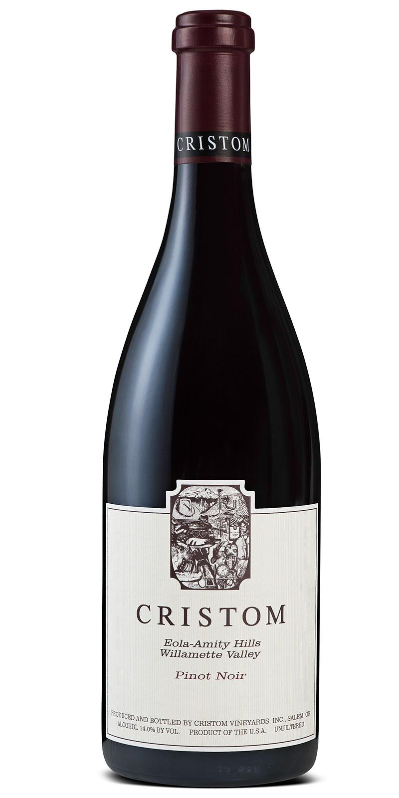 Cristom Eola-Amity Hills Willamette Valley Pinot Noir bottle